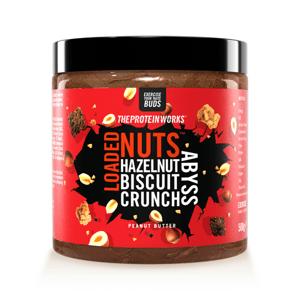 Arašídové máslo Loaded Nuts 500 g white choc fudge rapids - The Protein Works