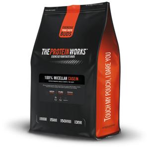100% Micelární Kasein 500 g jahodový krém - The Protein Works
