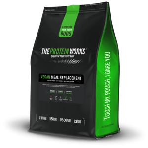Vegan Meal Replacement 500 g jahodový krém - The Protein Works