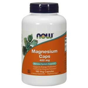 Magnézium 400 mg 180 kaps. - NOW Foods