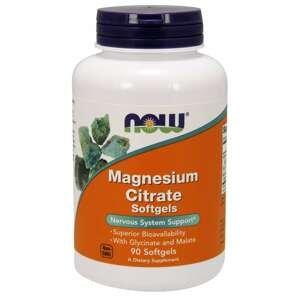 Magnézium citrát Softgelové kapsle 90 kaps. - NOW Foods