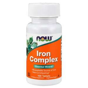 Iron Complex 100 tab. - NOW Foods