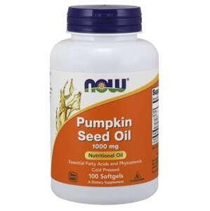 Olej z dýňových semínek 1000 mg 100 kaps. - NOW Foods