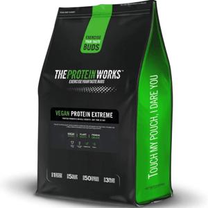 Vegan Protein Extreme 1000 g vanilkový krém - The Protein Works