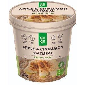 BIO Celozrnná ovesná kaše 60 g jablko skořice - Auga