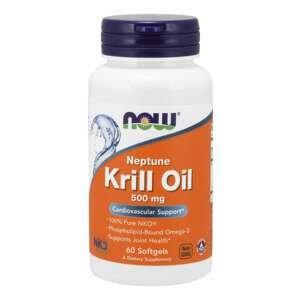 Neptune Krilový olej 500 mg 120 kaps. - NOW Foods