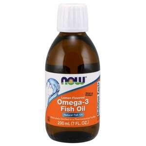 Rybí olej Omega-3 200 ml - NOW Foods