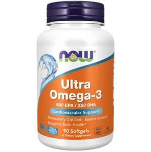 Ultra Omega-3 90 kaps. - NOW Foods