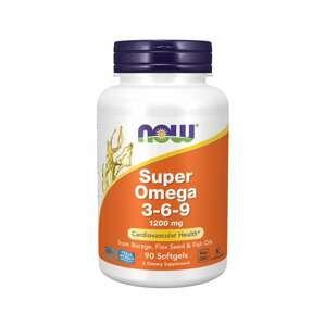 Super Omega 3-6-9 180 kaps. - NOW Foods