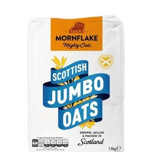 Celozrnné ovesné vločky Scottish Jumbo Oats 1,5 kg 1500 g - MornFlake