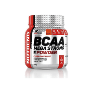 BCAA Mega Strong Powder 500 g třešeň - Nutrend