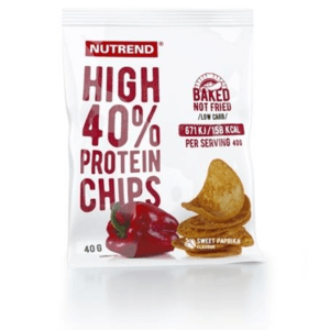 High Protein Chips 40 g paprika - Nutrend