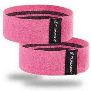 Posilovací guma Booty Band Pink - Climaqx