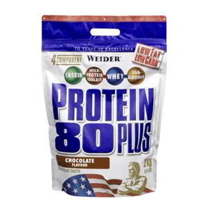 Protein 80 Plus 500 g lískový ořech nugát - Weider