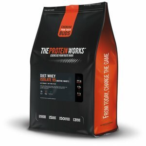 Protein Diet Whey Isolate 95 2000 g vanilkový krém - The Protein Works