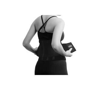 Bederní neoprenový pás Slimming Belt Black S - MADMAX
