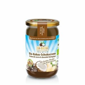 Premium BIO Oříškový krém Coconut Chocolate 200 g - DR. GOERG