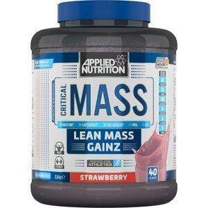 Critical Mass 6000 g bílá čokoláda malina - Applied Nutrition