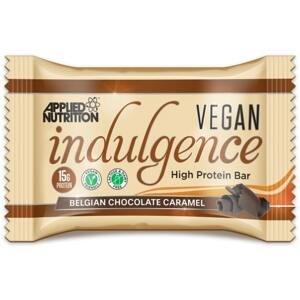 Vegan Indulgence Bar 50 g belgická čokoláda karamel - Applied Nutrition