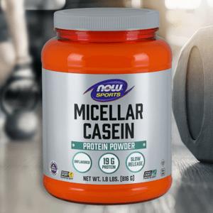 Micellar Casein 816 g - NOW Foods