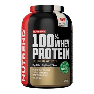 Protein 100% Whey 2250 g čokoládové brownie - Nutrend