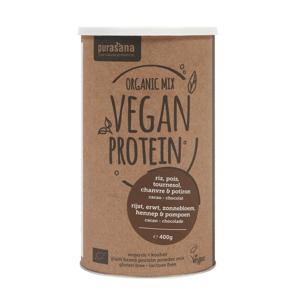 BIO Vegan Protein 400 g čokoláda - Purasana