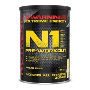 N1 Pre-Workout 10 x 17 g modrá malina - Nutrend