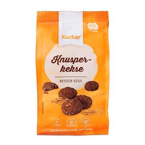 Křupavé sušenky 125 g - Xucker