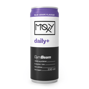 MOXY daily+ 330 ml modré hrozny - GymBeam