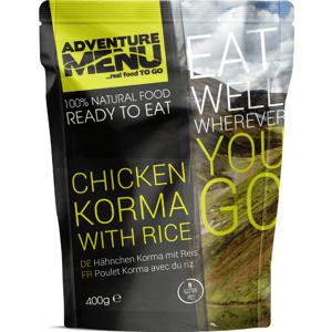 Kuře Korma s rýží 400 g - Adventure Menu