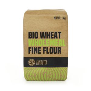 BIO Pšeničná mouka celozrnná hladká 1000 g - VanaVita