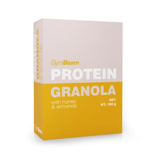 Proteinová granola s medem a mandlemi 300 g - GymBeam