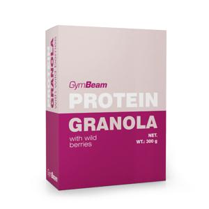 Proteinová granola s lesním ovocem 300 g - GymBeam