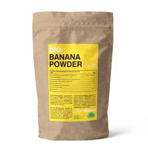 BIO Banánový prášek 200 g - GymBeam