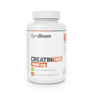 Kreatin TABS 1500 mg 200 tab. - GymBeam
