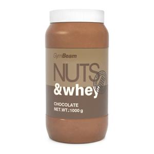 Proteinové arašídové máslo Nuts & Whey 1000 g čokoláda - GymBeam