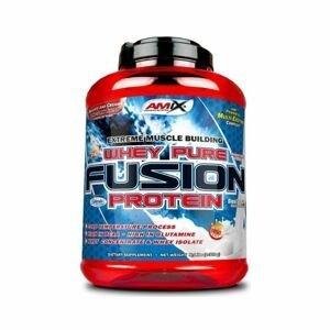 Protein Whey-Pro Fusion 2300 g jahoda - Amix