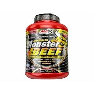 Hovězí protein Anabolic Monster Beef 2200 g jahoda banán - Amix