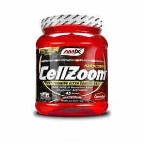 Předtréninkový stimulant CellZoom Hardcore 315 g modrá malina - Amix