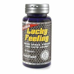 Lucky Feeling 60 kaps. bez příchuti - Goldfield