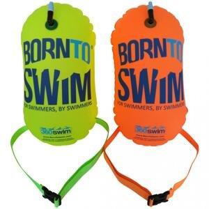 Born To Swim Plavecká Bójka Barva: Zelená, Velikost: 28x49cm