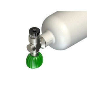 """Divesoft Blanking Plug With Pressure Release Button 300 Bar, G5/8"""""""