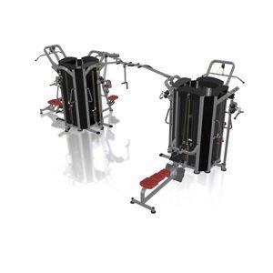 Multifunkční Posilovací Věž Marbo Sport Mp-T003