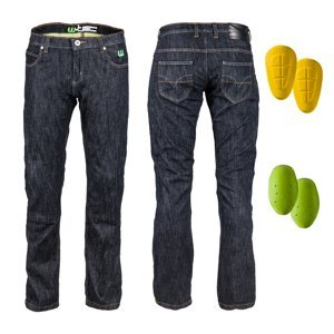 Pánské moto jeansy W-TEC A-1013  38  černá