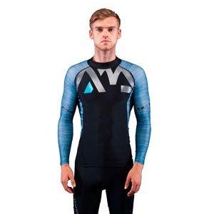 Pánské tričko pro vodní sporty Aqua Marina Division  modrá  M