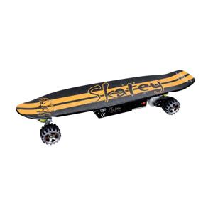 Elektrický longboard Skatey 400 černo-oranžový