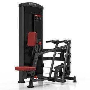 Posilovací Stroj - Přítahy V Sedě Marbo Sport Mp-U229  Červená