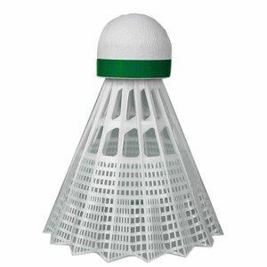 Plastové Míče Yonex Mavis 350  Bílý Míček - Zelený Pruh