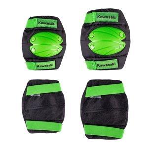 Sada Dětských Chráničů Kawasaki Purotek  M  Zelená