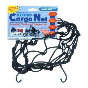 Pružná Zavazadlová Síť Pro Motocykly Oxford Cargo Net 30X30 Cm